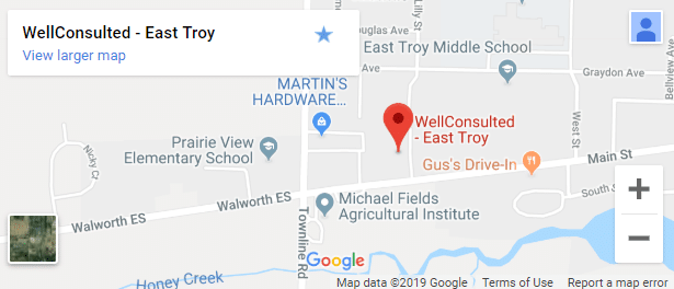 Map of East Troy Wellness Services - S
